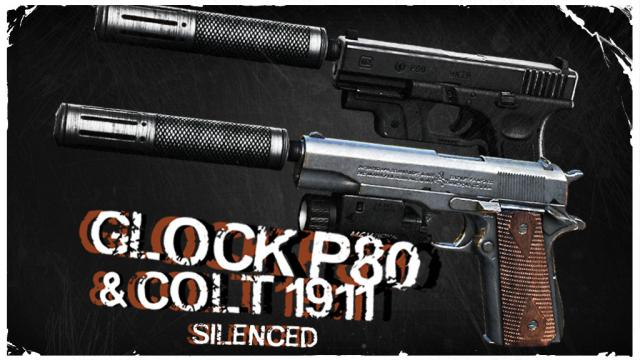 Steam Workshop :: Thanez's Glock P80 and Waedoe's Colt M1911
