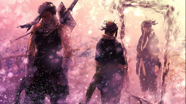 Steam Workshop Naruto Zabuza Haku Wallpaper Sadness