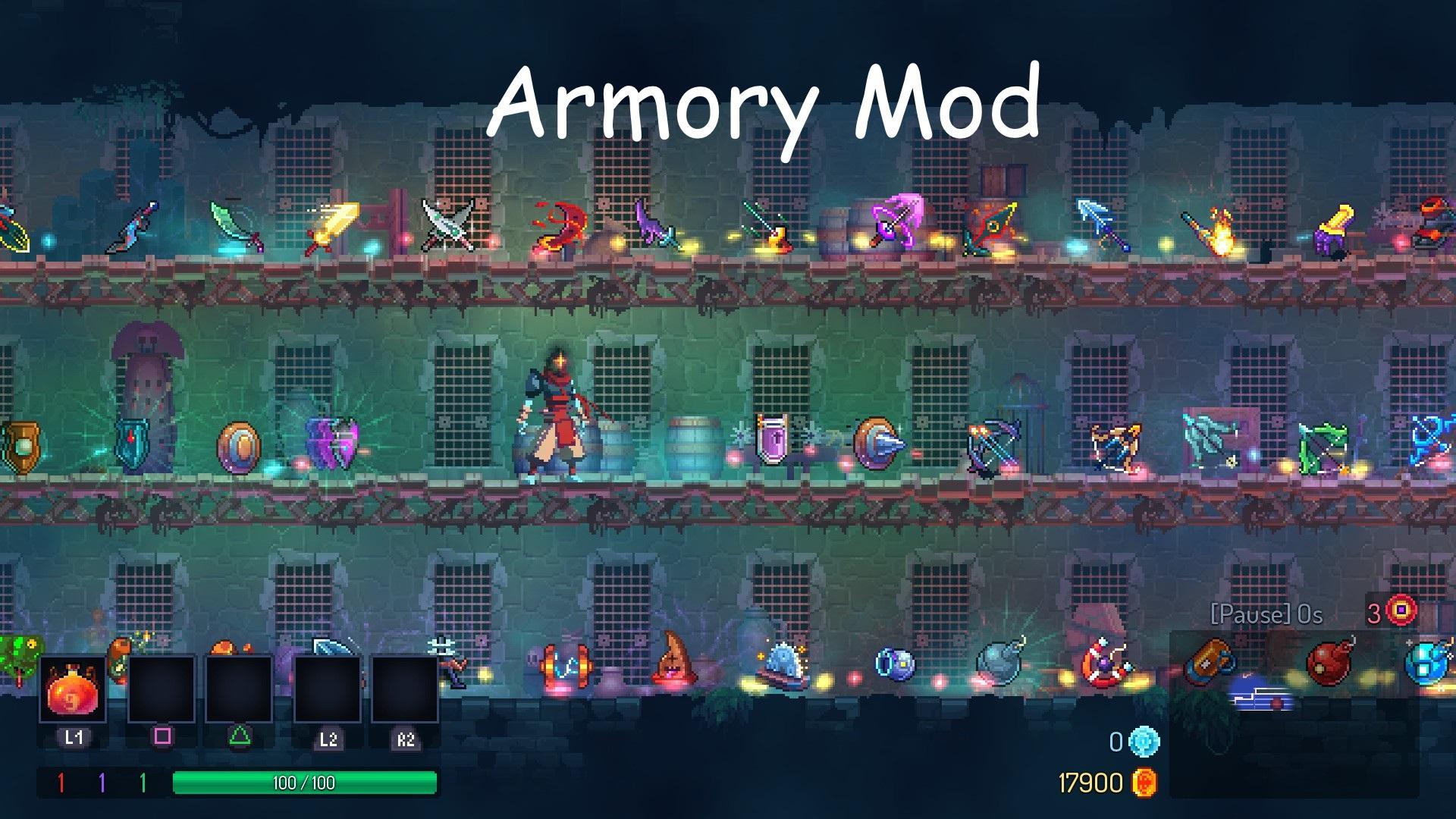 Inky's Armory Mod