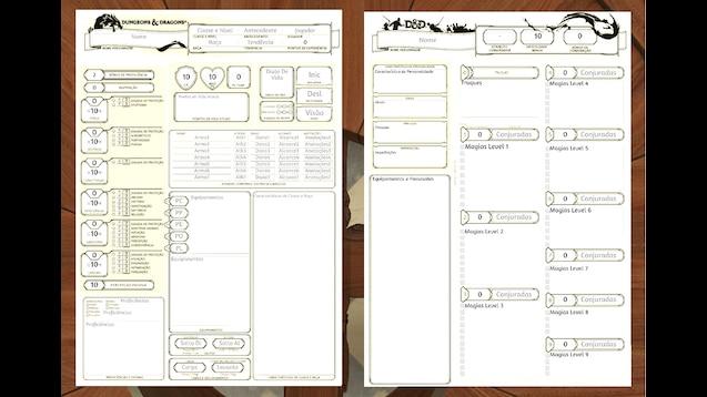 Steam Workshop :: Scripted Sheet DnD5e PTv 1 6