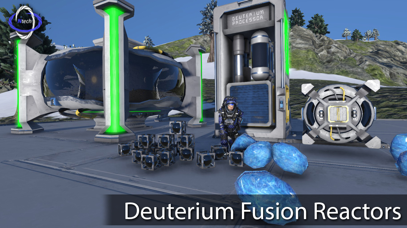 Deuterium Fusion Reactors