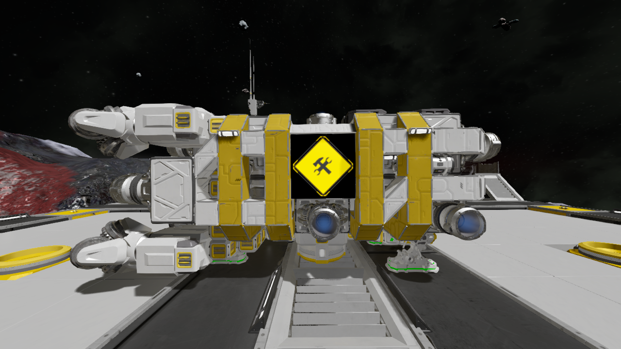 [PAM]-Auto Miner - Example Ship (Space+Moon)