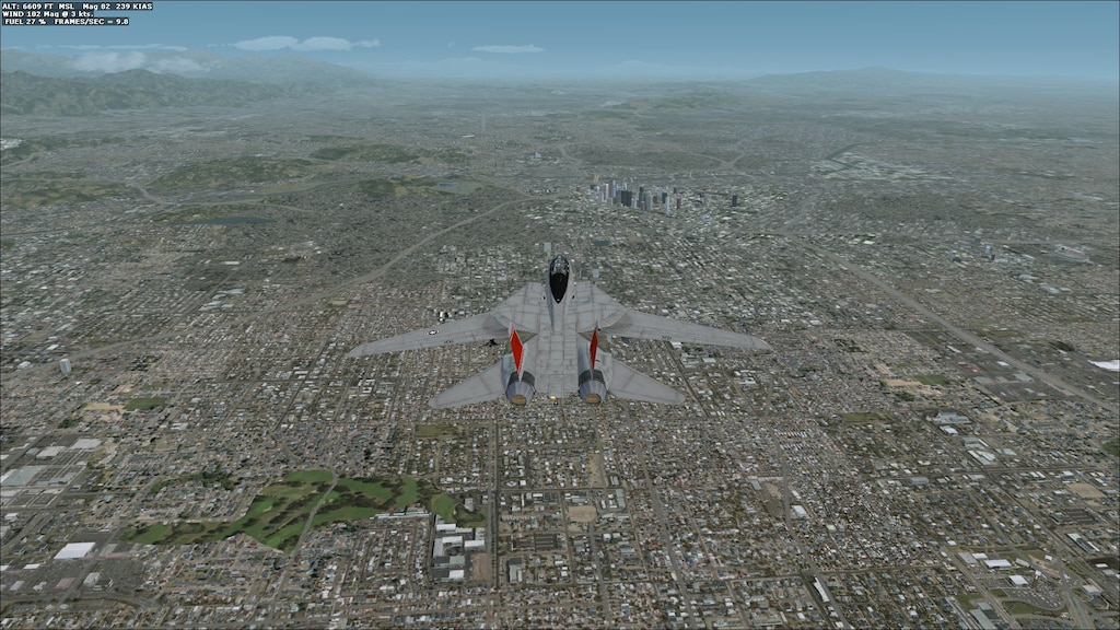 Steam Community :: Screenshot :: 9 8 FPS Over Los Angeles