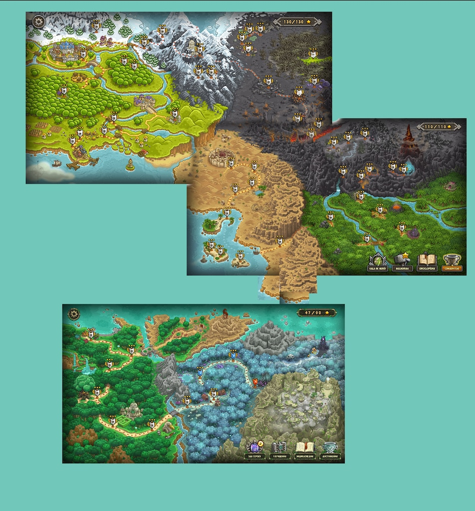 Steam Community :: :: Kingdom Rush full map on elder scrolls kingdom map, blackwater rush ice and fire map, rush tower map, dwarven kingdom map,