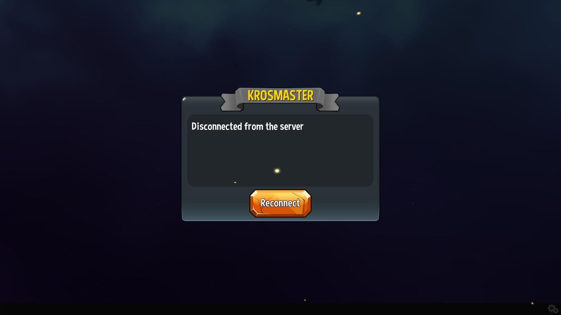 Connection error issues on Steam | Krosmaster: Arena
