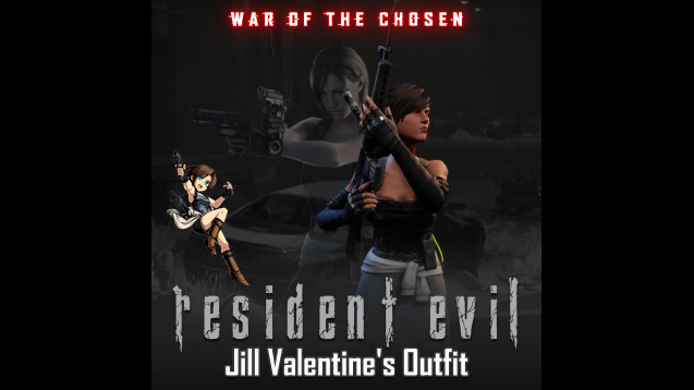 Wotc Resident Evil Jill Valentine S Casual Outfit Skymods