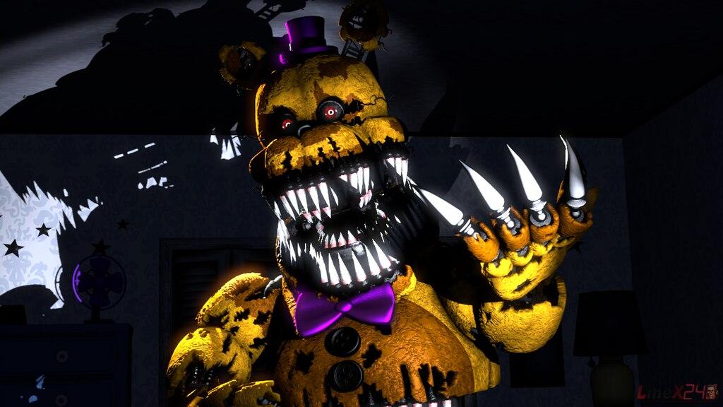 Comunidade Steam :: :: Nightmare Fredbear [SFM FNAF4]