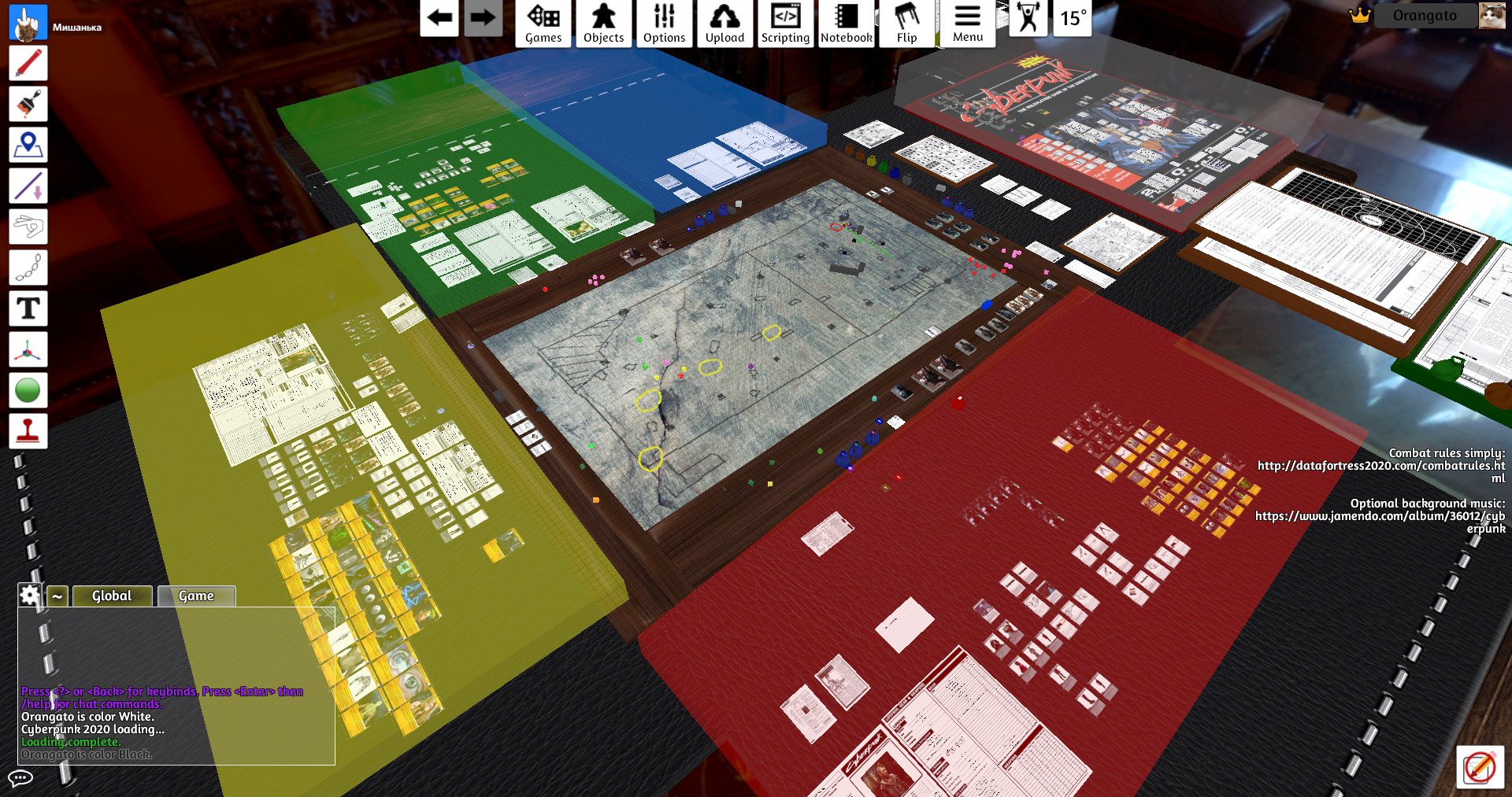 Board Games 2020.Steam Workshop Cyberpunk 2020 Pnp Materials