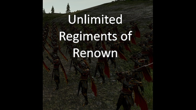 Steam Workshop :: [Not Updated] Unlimited Regiments of