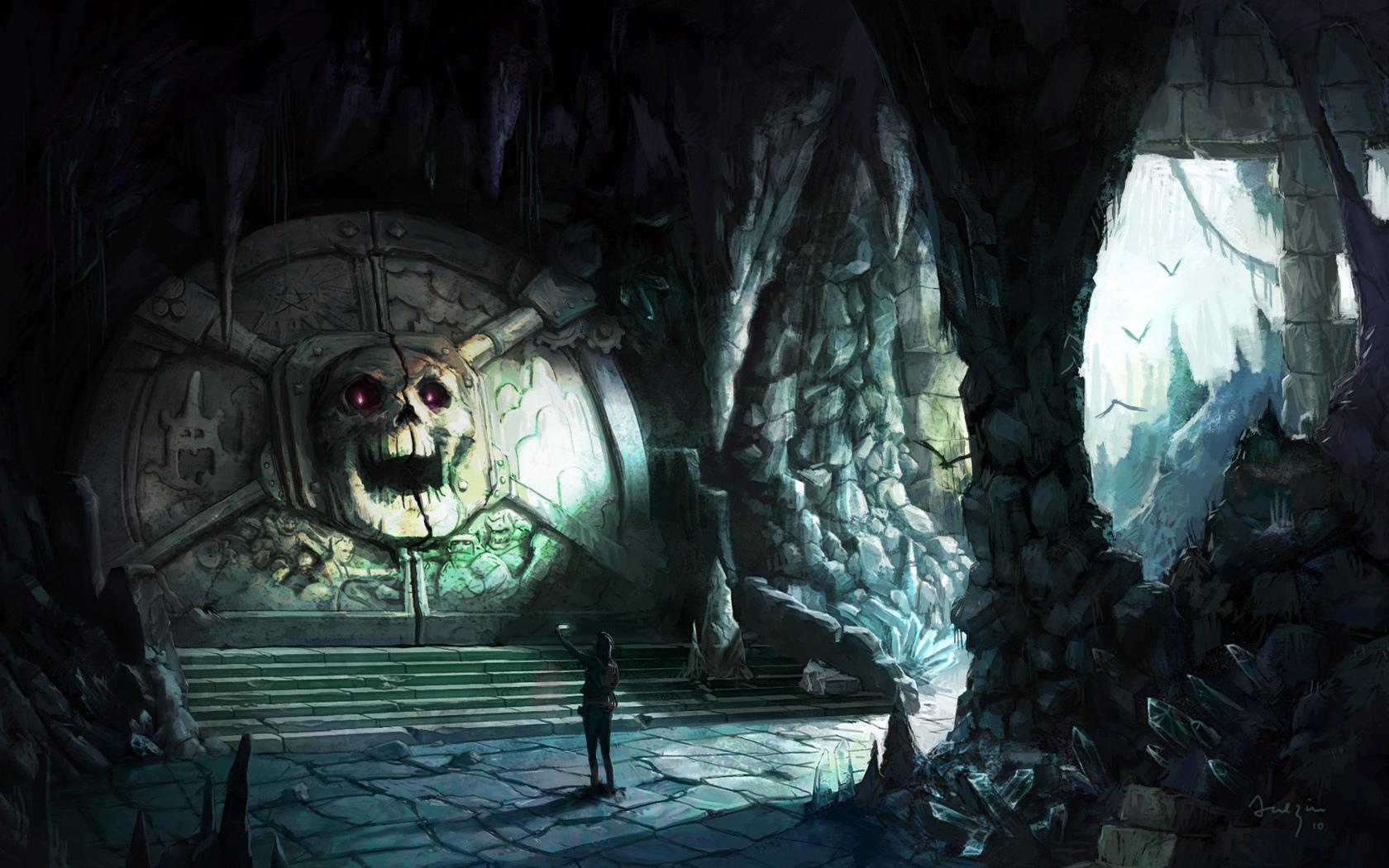 обладает картинка вход в подземелье неприятность, которая приносит
