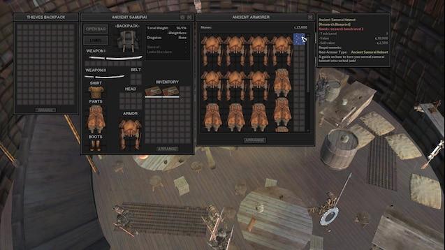 Steam Workshop :: Ancient Samurai Armor