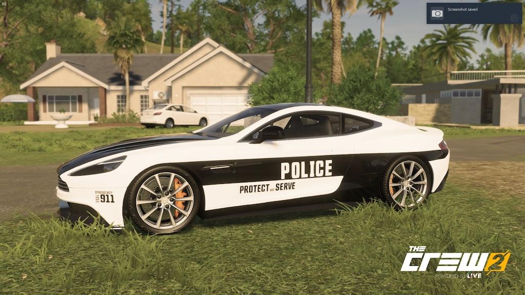 Steam Community Screenshot Aston Martin Vanquish Police Car