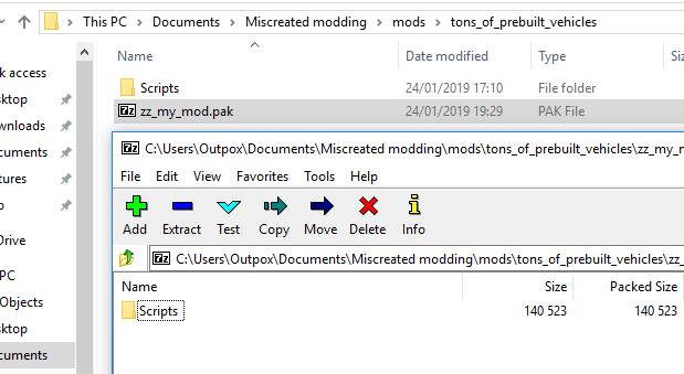 7zip Pak Files