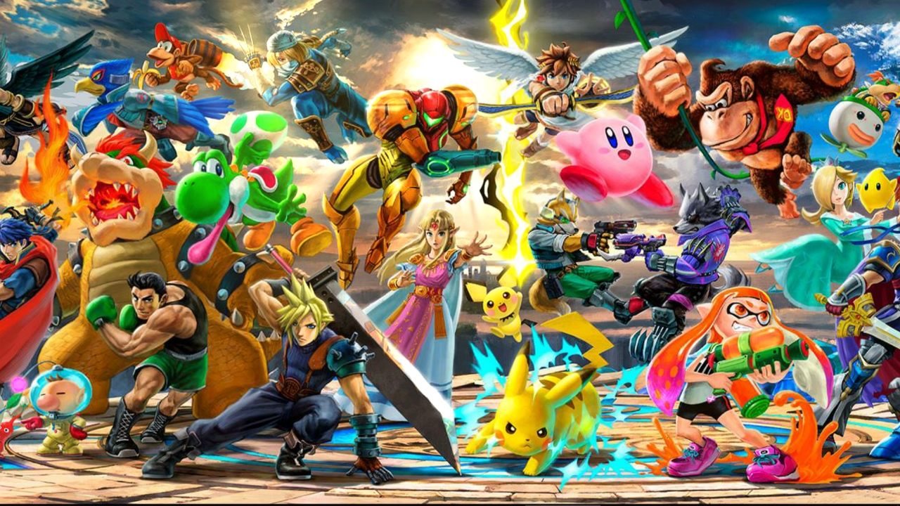 Steam Workshop Super Smash Bros Ultimate Everyone Is Here