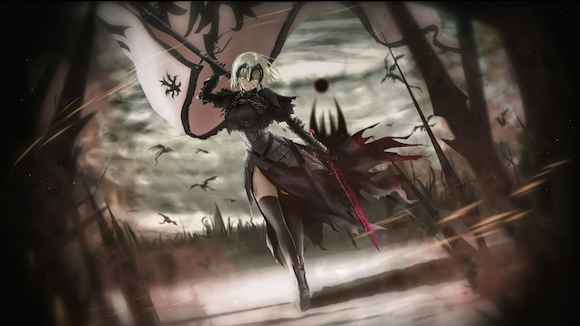 Steam Workshop :: Animated Jeanne d'Arc (alter) - [Fate