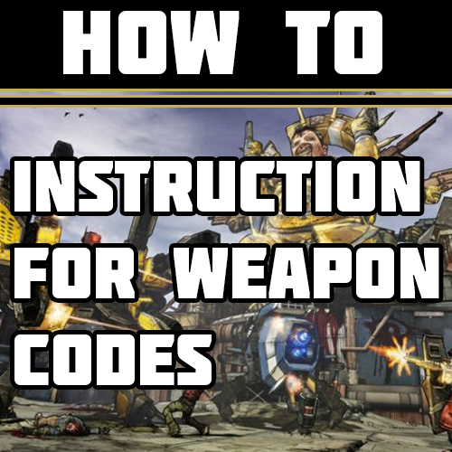 Steam Community :: Guide :: How do to use Weapon codes [Save