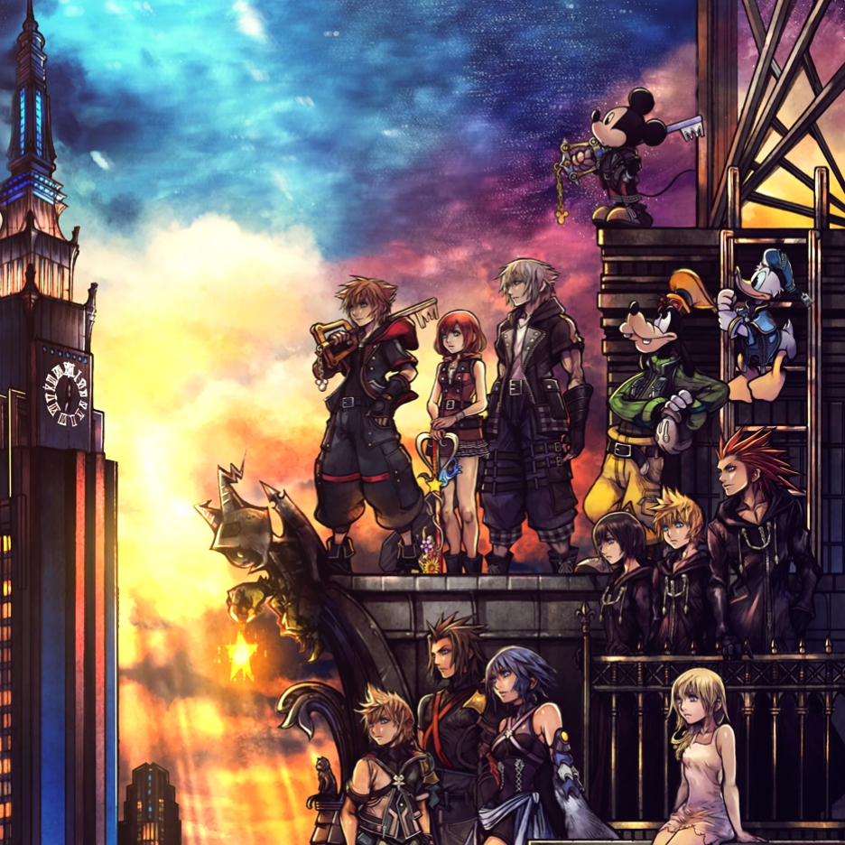 Steam Workshop Kingdom Hearts 3 Box Art Animated