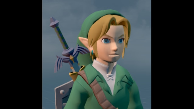 Steam Workshop::BotW Link (OoT Outfit)