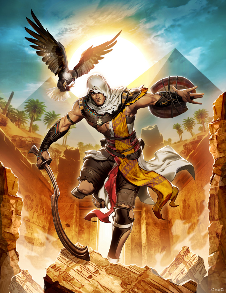 Steam Community Bayek Artwork