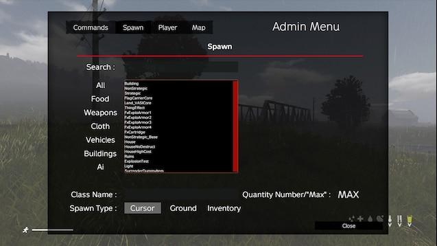 dayz admin tools