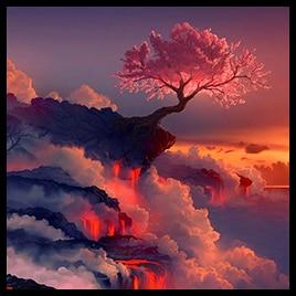 Steam Workshop Sakura Lava Animated Dual Screen
