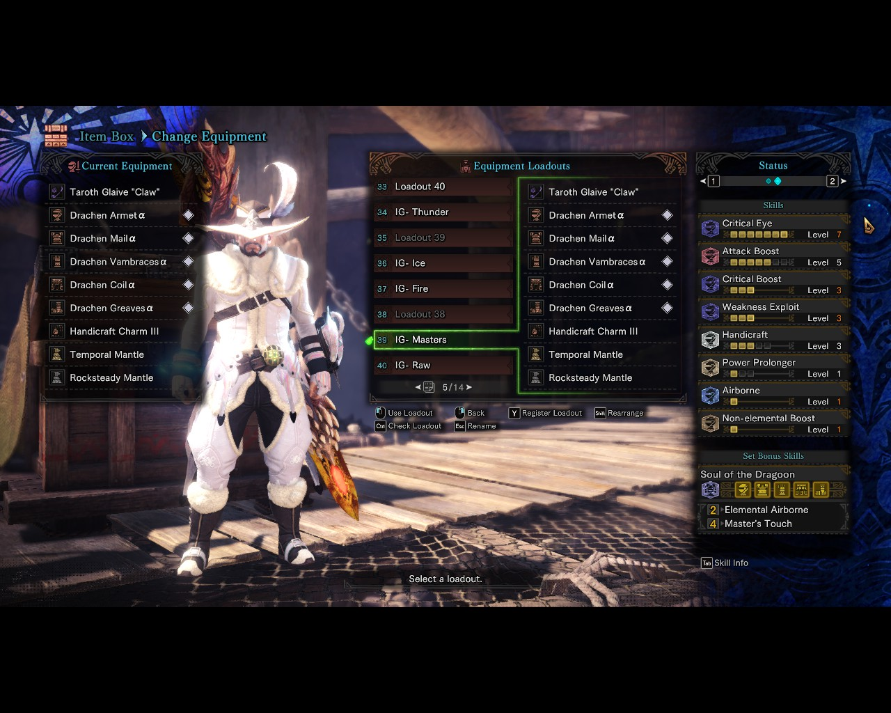Elementless insect glaive build :: MONSTER HUNTER: WORLD