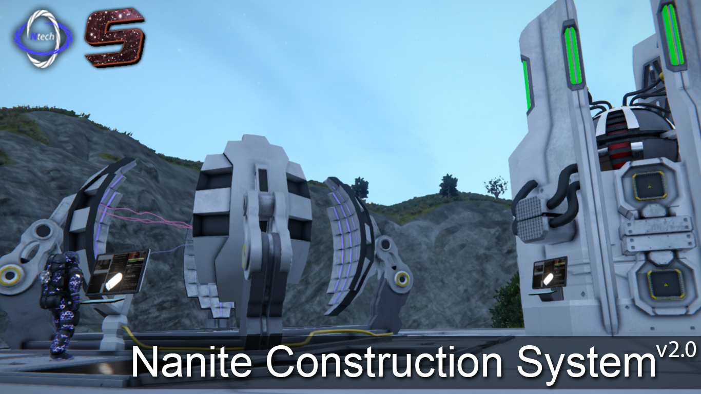 Nanite Control Facility v2.0(9) - Automated Construction