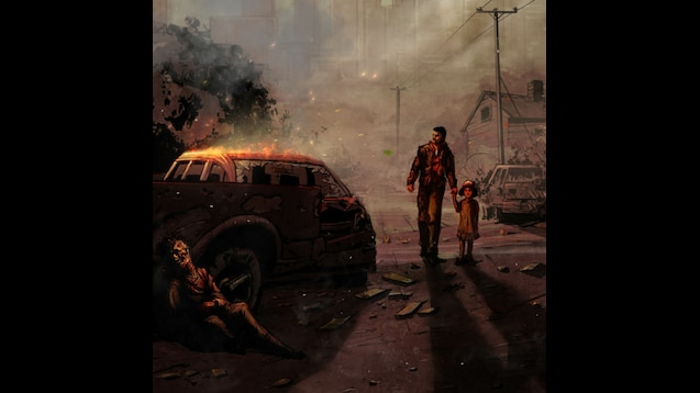 Steam Workshop The Walking Dead Game Animated Wallpaper