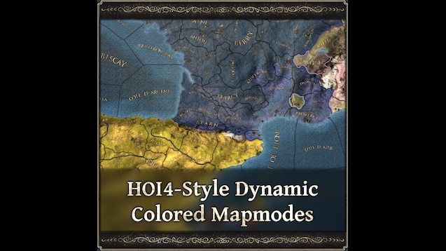 Steam Workshop :: HOI4-Style Dynamic Colored Mapmodes Ironman 1 28
