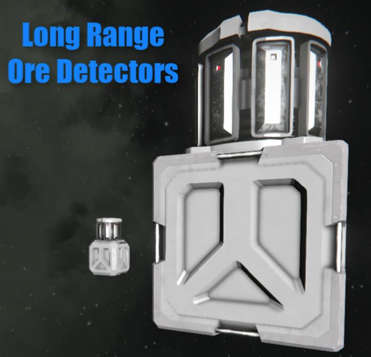 High Range Ore Detectors