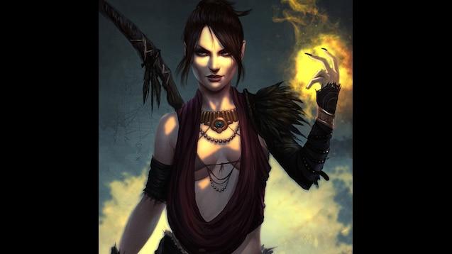 Steam Workshop Dragon Age Origins Morrigan Wallpaper