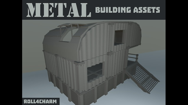 Steam Workshop :: [METAL] Building Assets by roll4charm