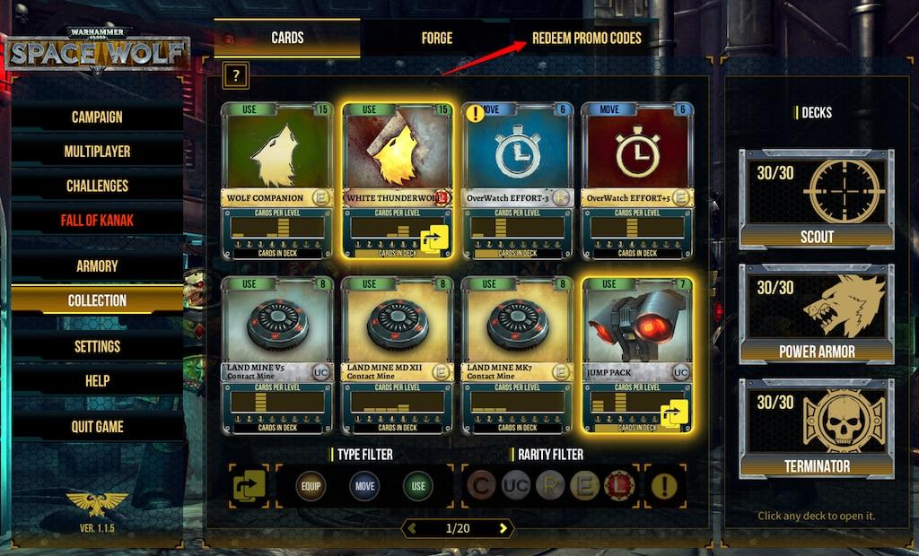 Steam Community :: :: Redeem Promo Codes 1