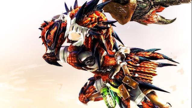 Steam Workshop Rathalos Armor Female Monster Hunter World