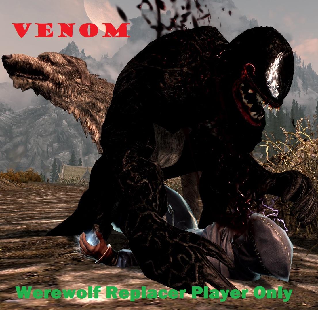 Venom - Werewolf Replacer - Player Only 1.0画像