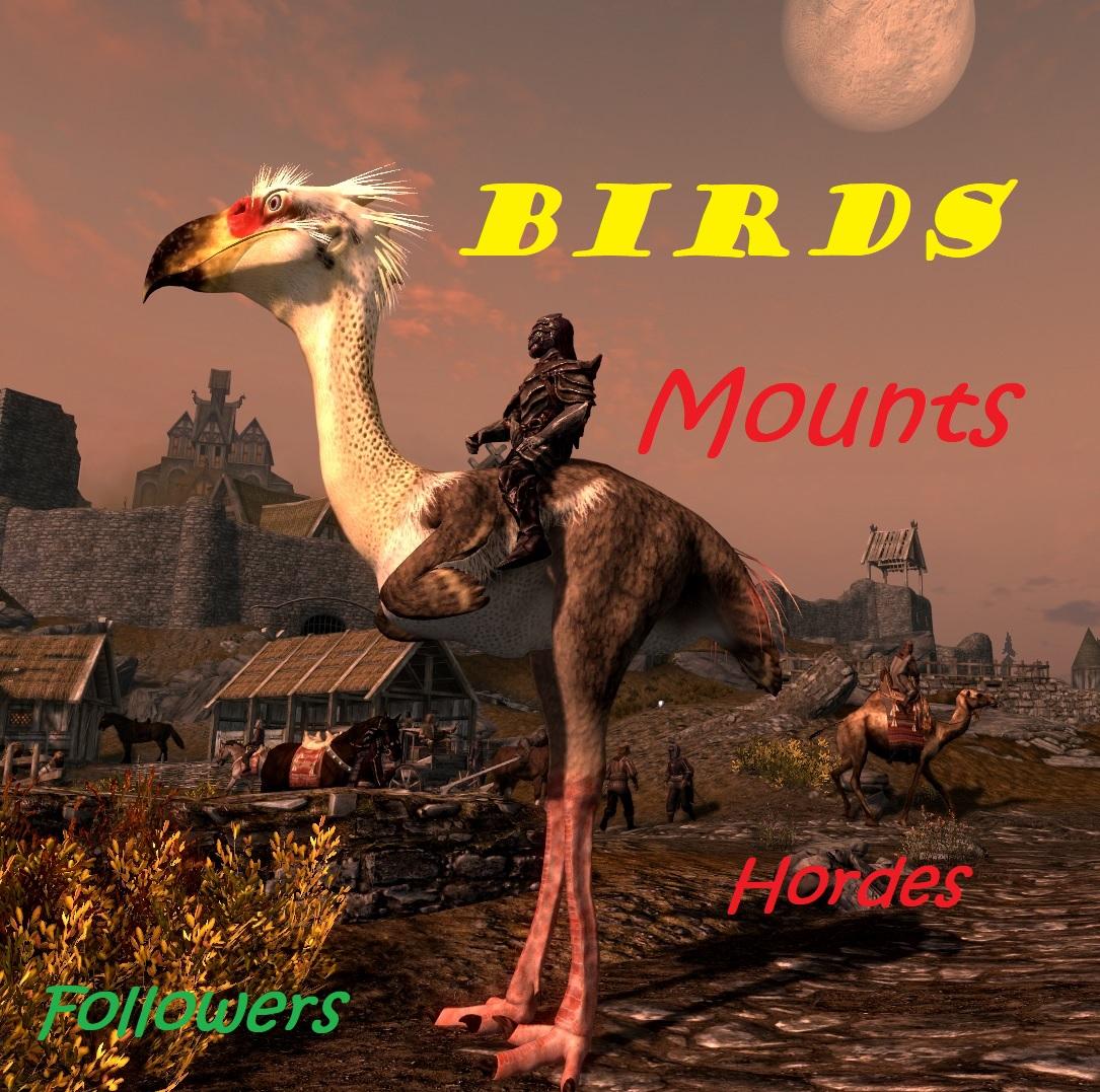 Birds - Mounts - Hordes and Followers 1.0画像