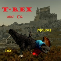 T-Rex and Co. Mounts 2.1画像