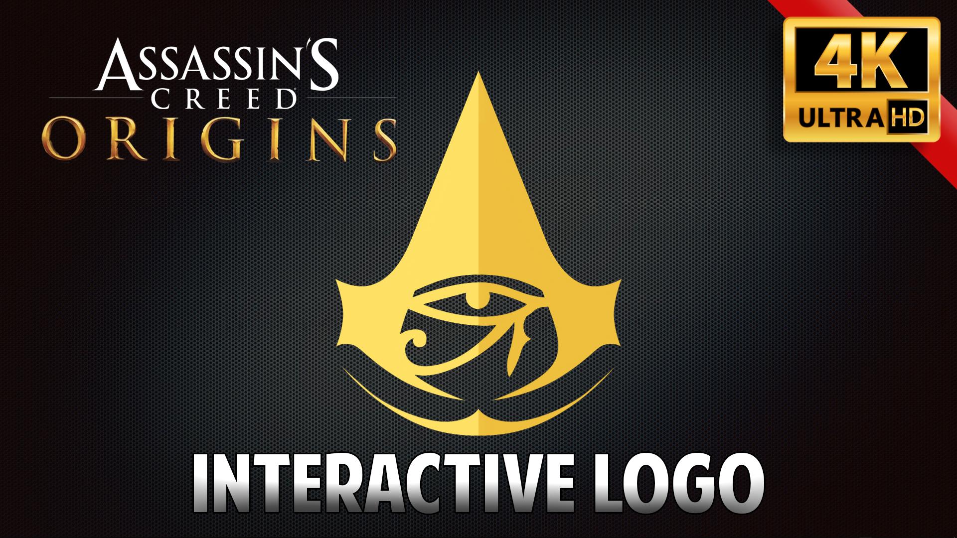 Steam Workshop Assassin S Creed Origins Interactive Logo 4k