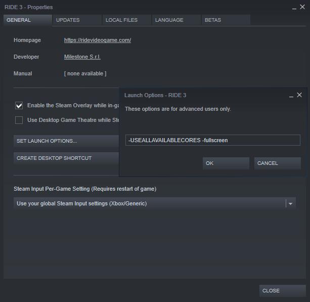 Steam Community :: Guide :: Improve Ride 3 Visuals