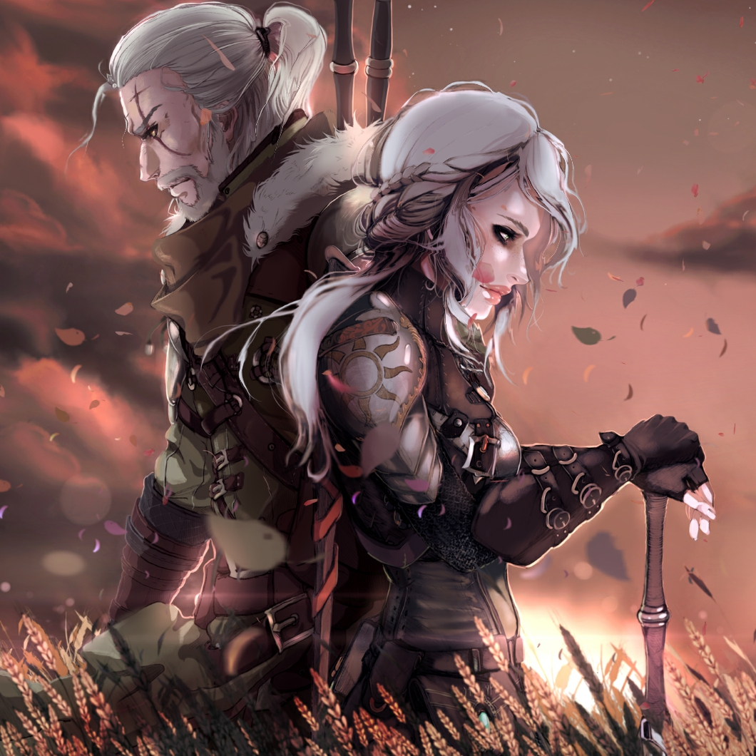 Steam Workshop Geralt Ciri The Witcher 3 Wild Hunt