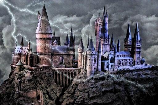 Хогвартс красивые картинки