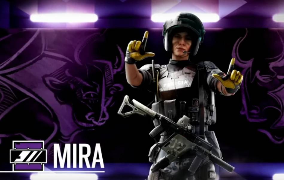 Image result for mira rainbow six gameplay