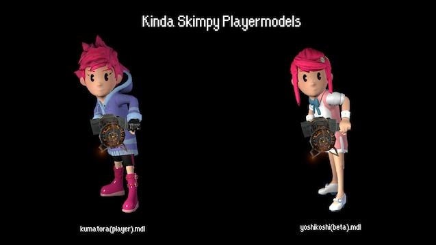 Steam Workshop :: [MOTHER3 MODELS] Kumatora [Model+Playermodel]