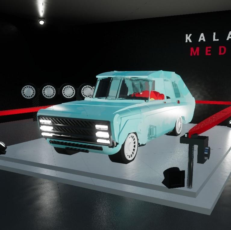 2018 Kalashnikov Electric Car Cv1