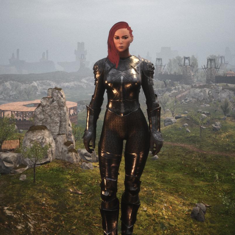 Sexy Silent Legion Armor