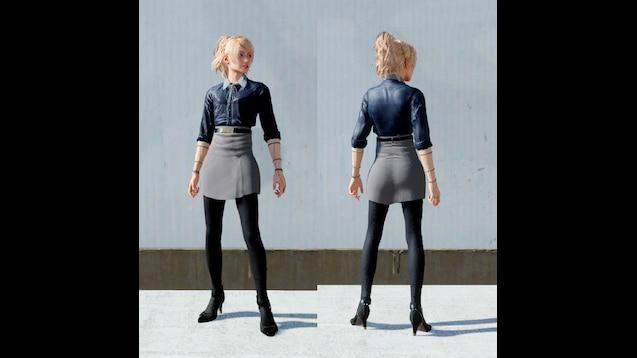 Steam Workshop :: Lunafreya Kingsglaive Outfit (No Coat