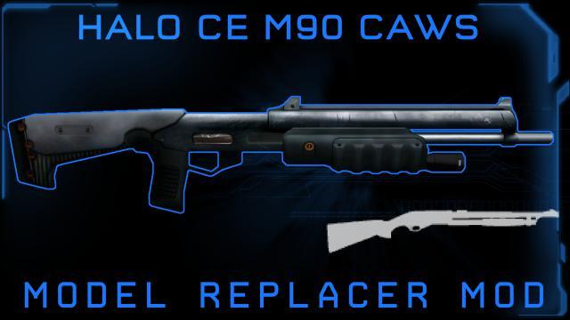 Steam Workshop :: Halo CE M90 CAWS (Pump Shotgun)
