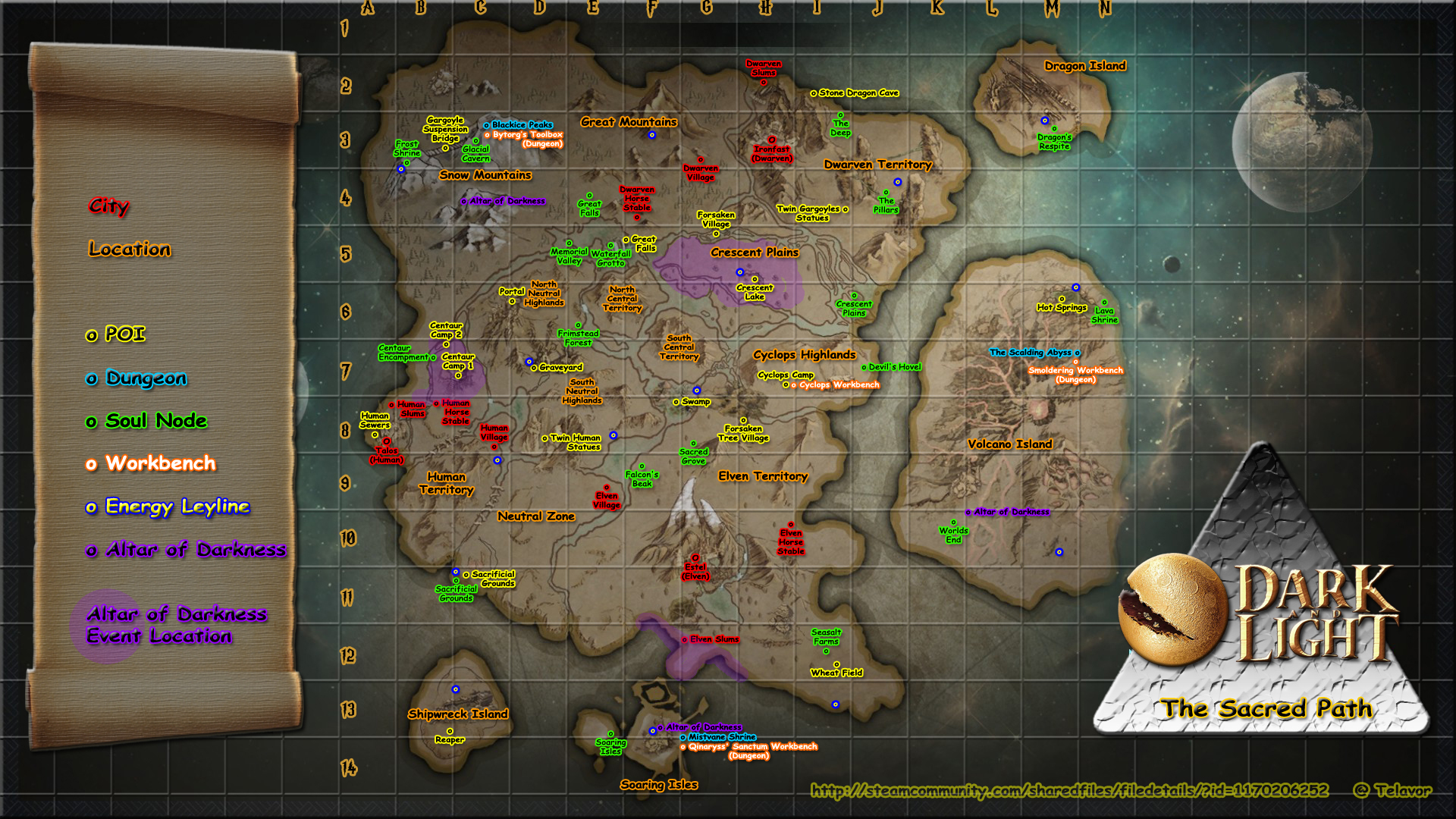 Steam Community :: Guide :: Dark and Light Maps - The Sacred Path