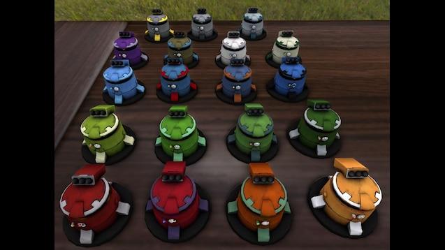 Steam Workshop :: Tabletop Wargame Models: Greek Letter, Tau