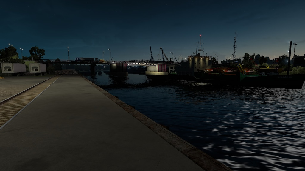 Steam Community :: Screenshot :: Schiffsbrücke in Ventspils